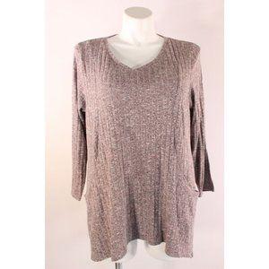 Dress Barn Sunday Long Sleeve Top with Pockets!